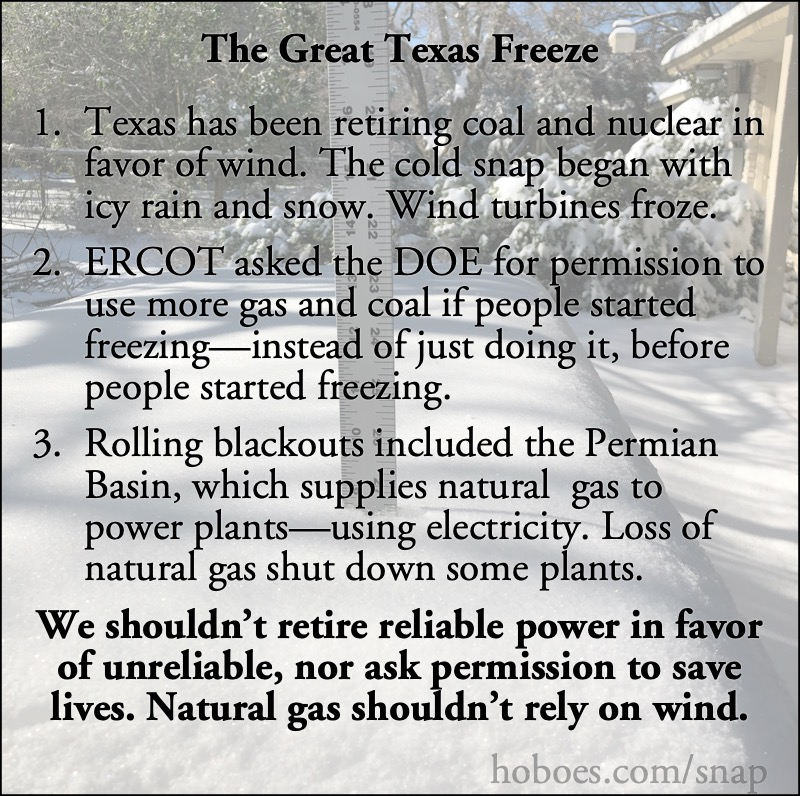 The Great Texas Freeze