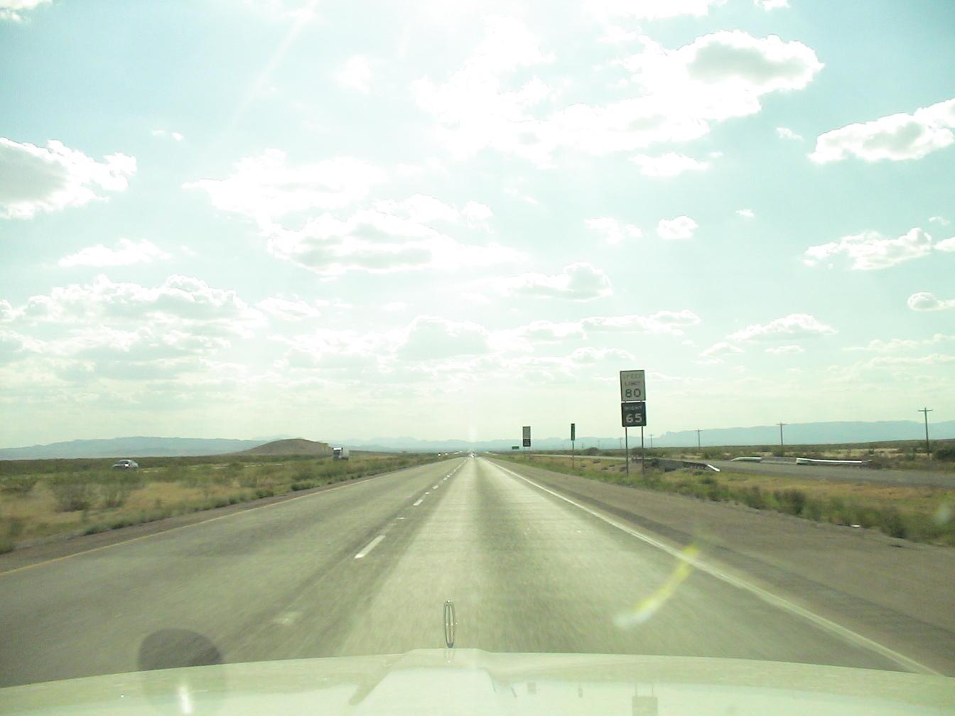 Night speed limits