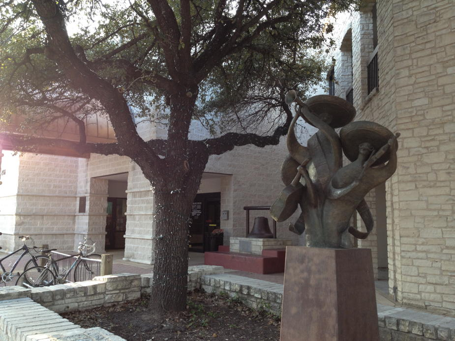 Round Rock Public Library sculpture