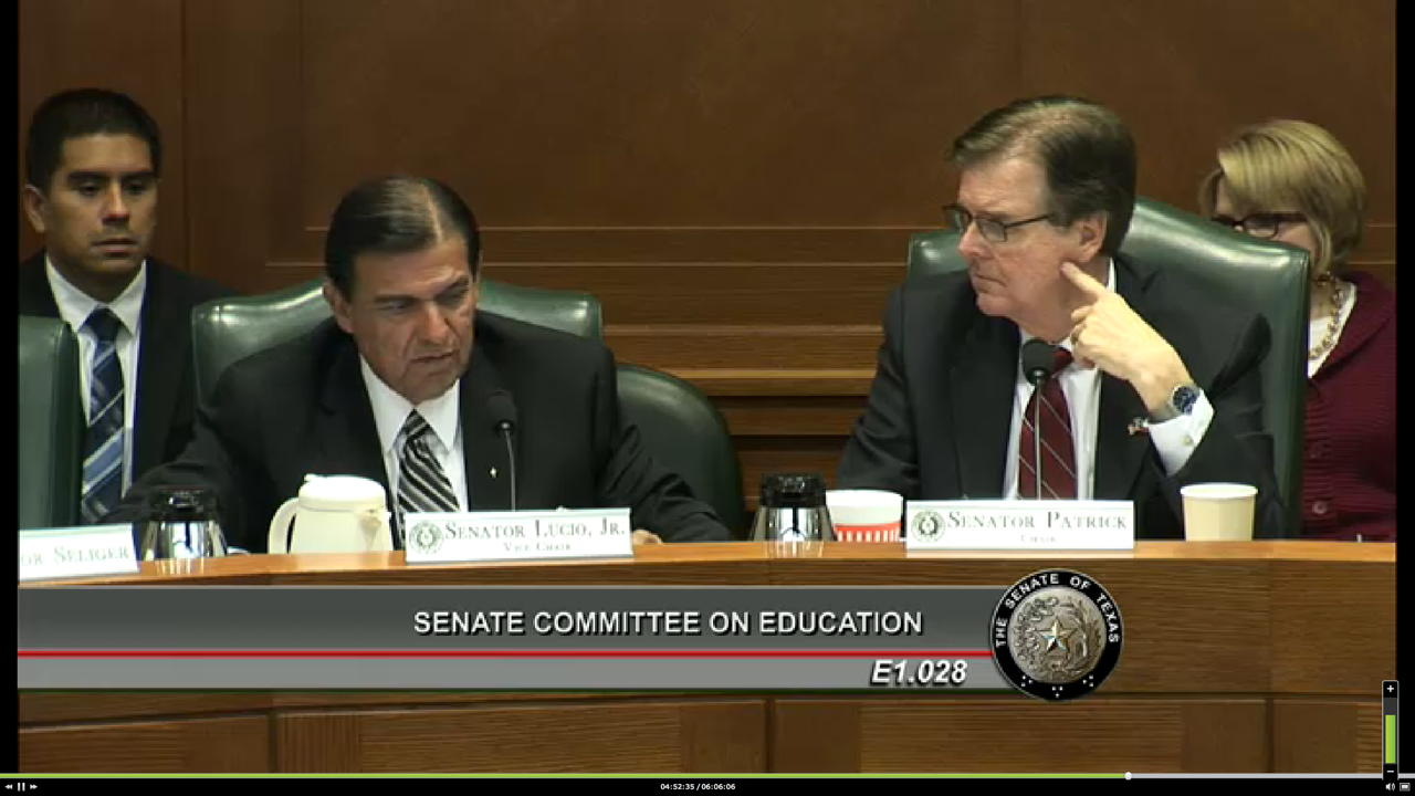 Texas Senate Education Committee