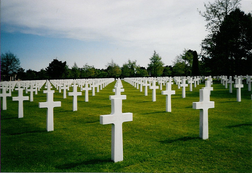 Cemetary at Colleville-sur-mer, France