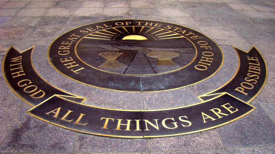 Ohio motto and seal