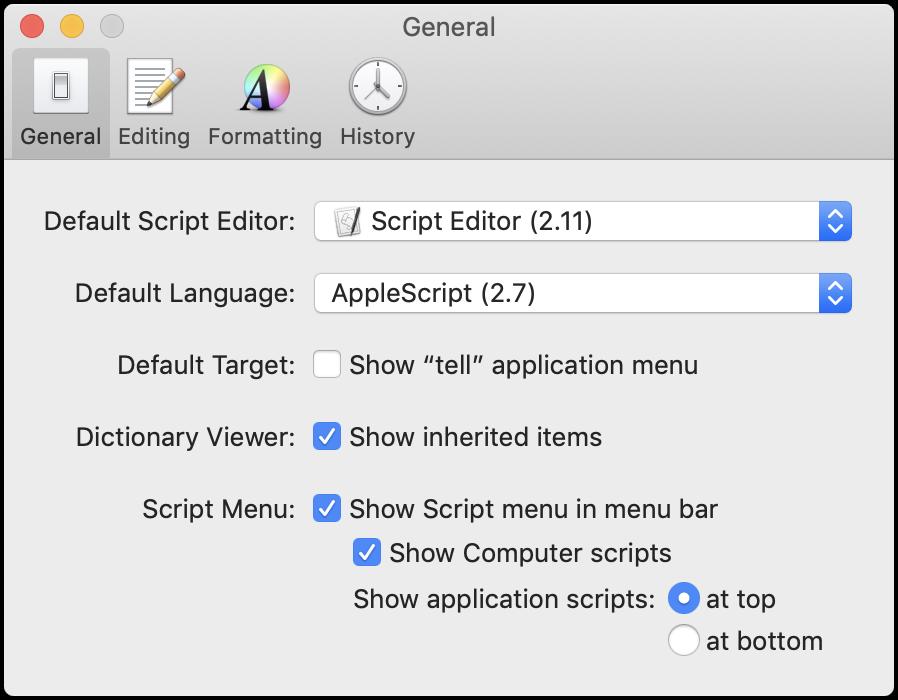 AppleScript Editor: Enable Script Menu
