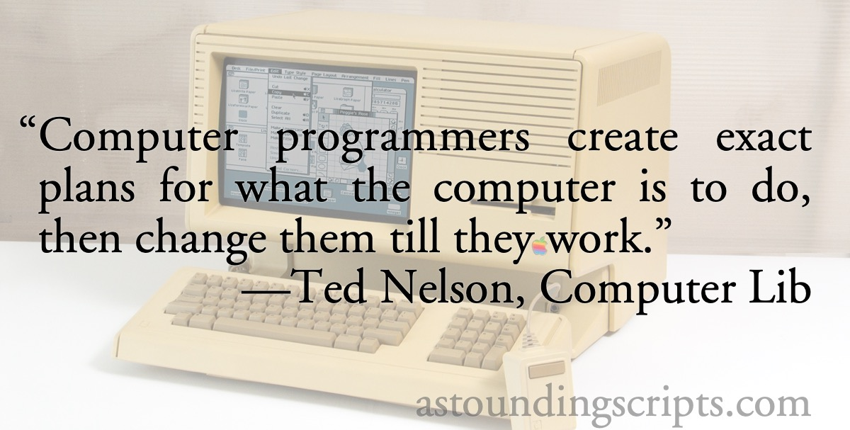 Ted Nelson: Computer programmers create