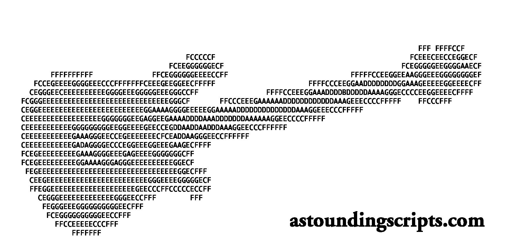 ASCII guitar