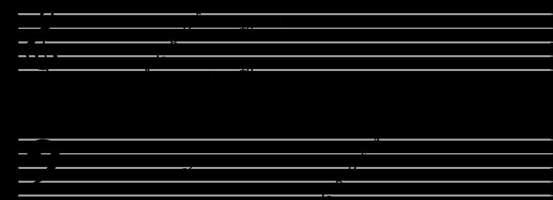 Piano script octaves
