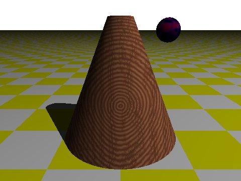 POV-Ray Cone (Small)