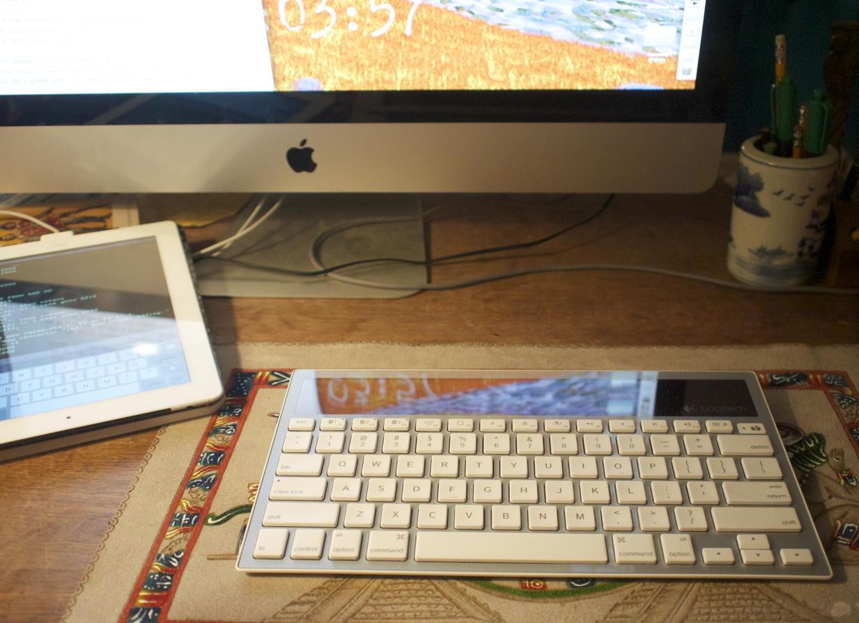 Logitech K760 solar keyboard