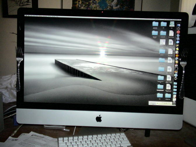 Forked iMac