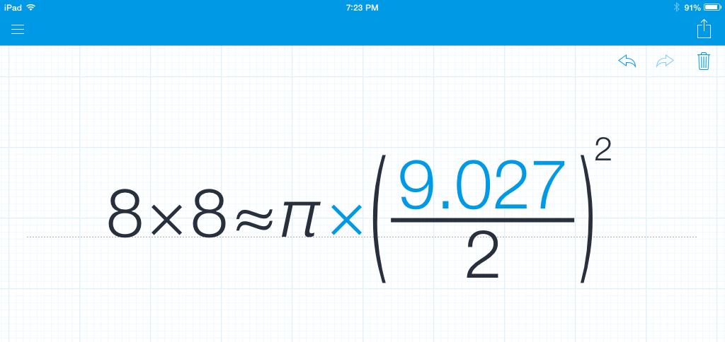 MyScript Calculator solution