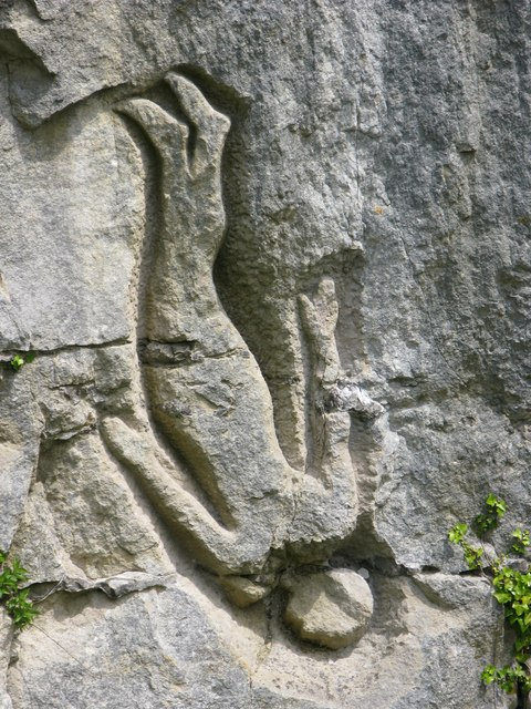 Falling Man of Tout Quarry