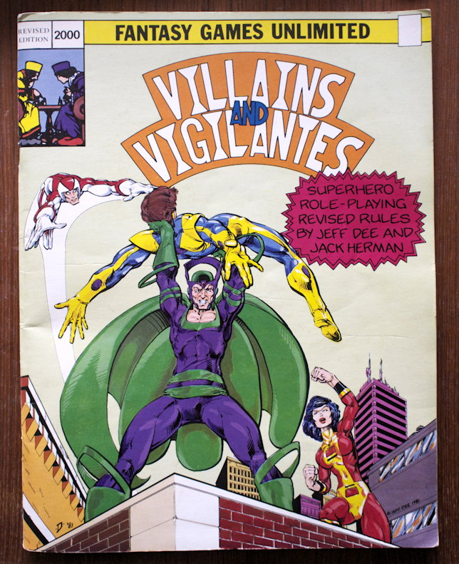 Villains and Vigilantes 2000 cover