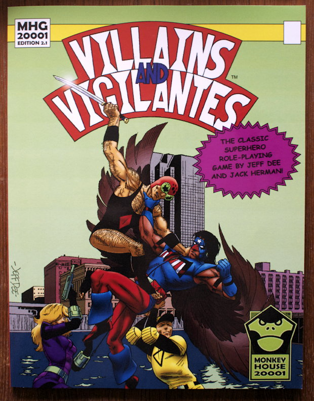 Villains and Vigilantes 2001 cover