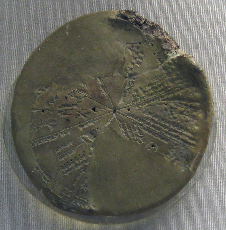 Cuneiform planisphere