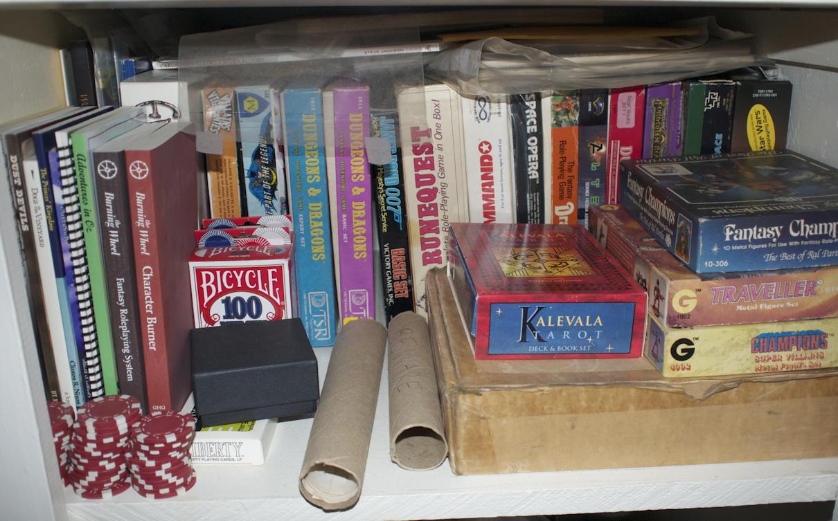 Boxed set RPGs