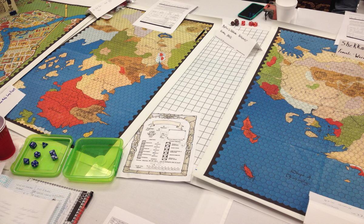 Tékumel maps