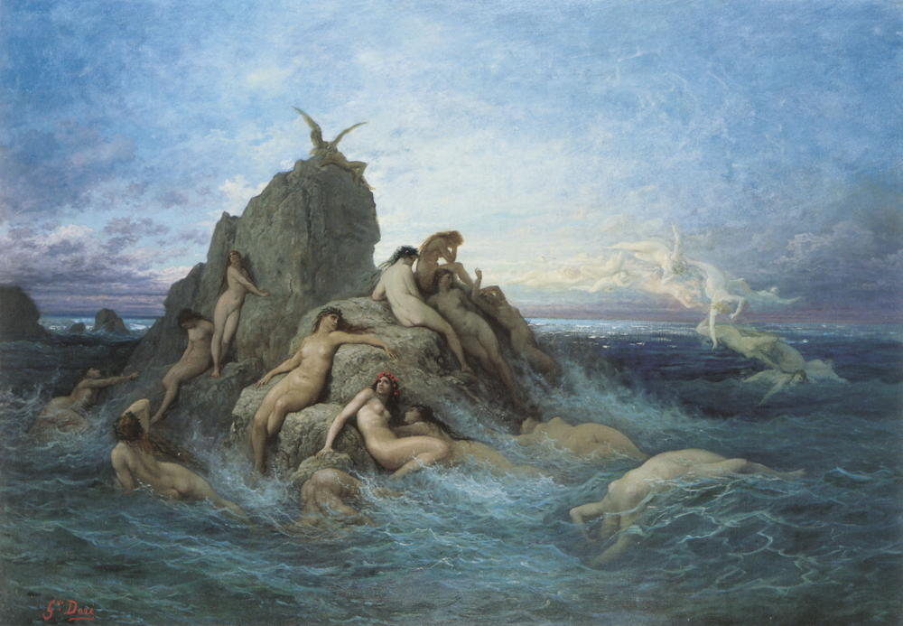 Naiads of the sea
