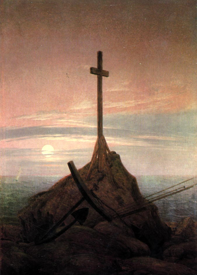 Cross beside the Baltic
