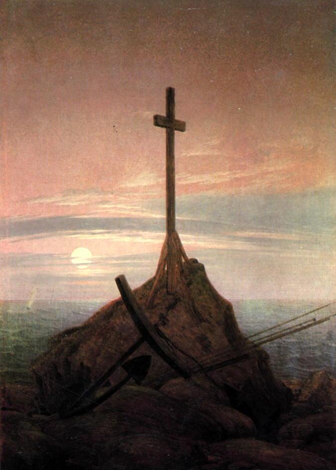 Cross beside the Baltic