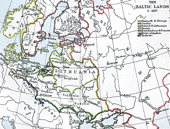 The Baltic Kingdoms: 1617