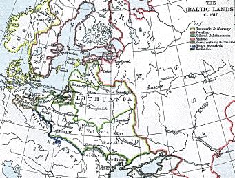 The Baltic Kingdoms: 1617