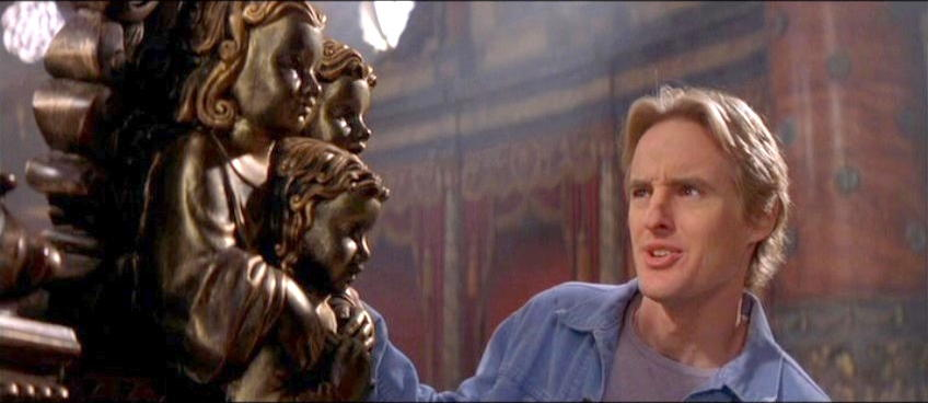 Owen Wilson in The Haunting