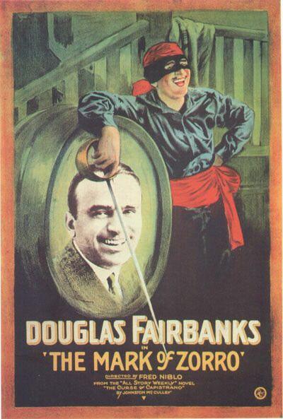 Mark of Zorro movie poster