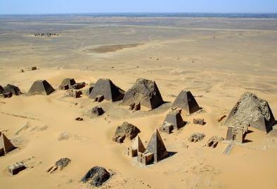 Pyramids at Meroë