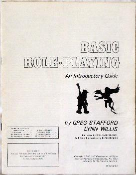 Basic Role-Playing cover