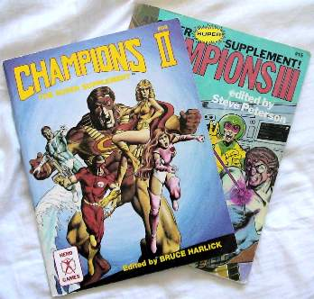 Champions supplements covers