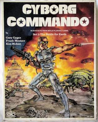 Cyborg Commando cover