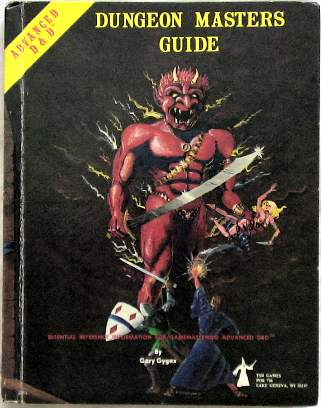 Advanced D&D DMG cover
