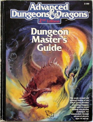 Advanced D&D Second edition DMG cover