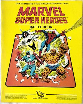 Marvel Super Heroes cover