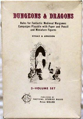 Original D&D cover