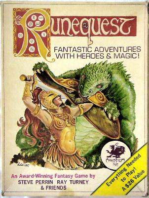 Runequest cover