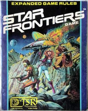 Star Frontiers cover