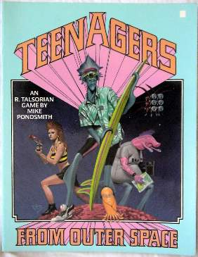 Teenagers from Outer Space cover