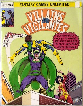 Villains & Vigilantes cover