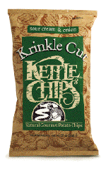 Kettle Sour Cream and Onion Krinkle Cut