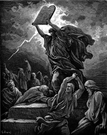 Moses and the Tablets of the Law