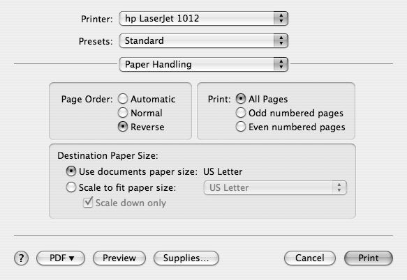 Even Paper Handling for half-sized pages