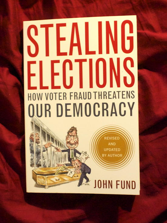 Stealing Elections cover