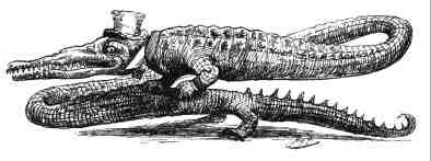 A changed crocodile
