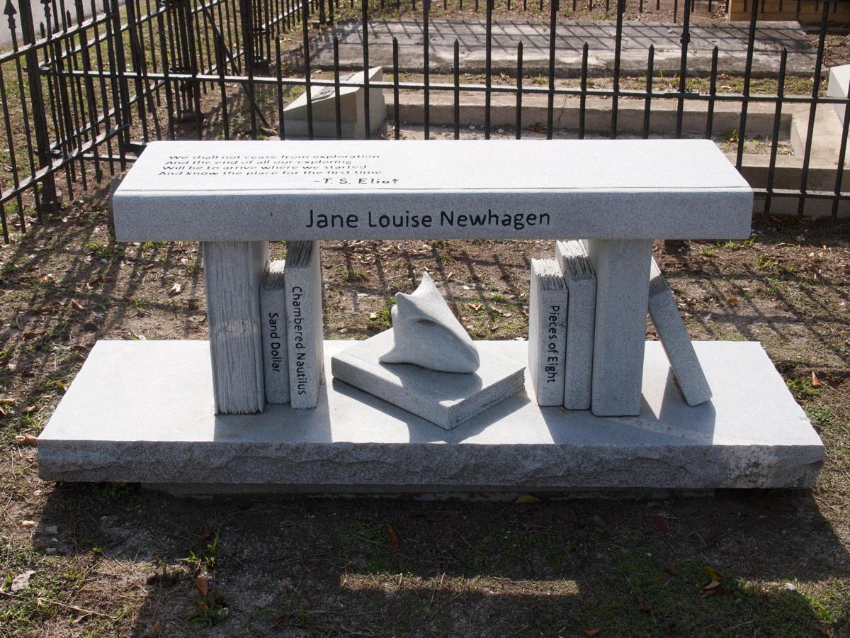 Jane Louise Newhagen's stone