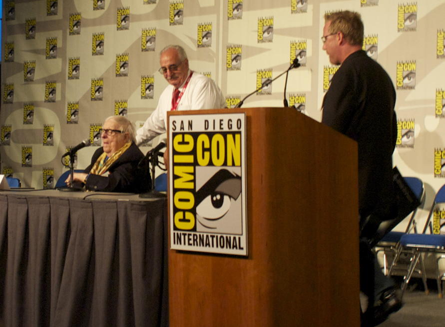 Ray Bradbury at Comic-Con 2010