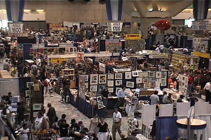 Comic-Con Exhibition Floor 2003