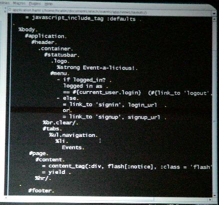 Python-like HTML
