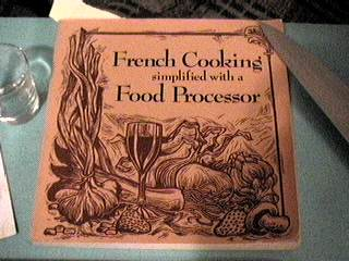 French Cooking Simplified with a Food Processor