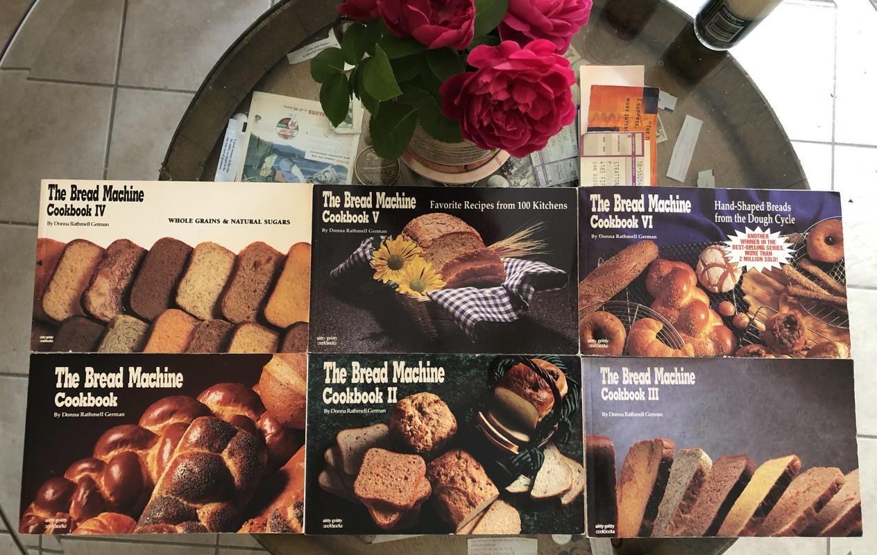 The Bread Machine Cookbook I-VI